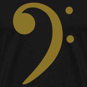bass clef T-Shirts - Men's Premium T-Shirt