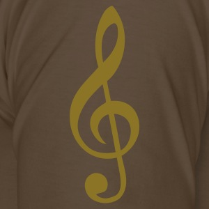 treble clef T-Shirts - Men's Premium T-Shirt