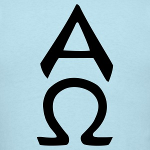 alpha omega T-Shirts - Men's T-Shirt