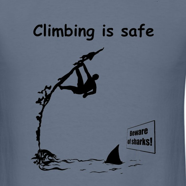 Climbing T-shirt - Deep Water Solo