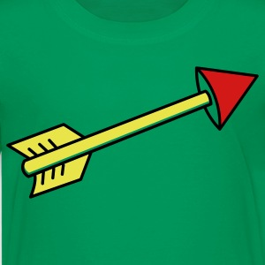 Kelly green arrow pointing right Kids' Shirts - Kids' Premium T-Shirt