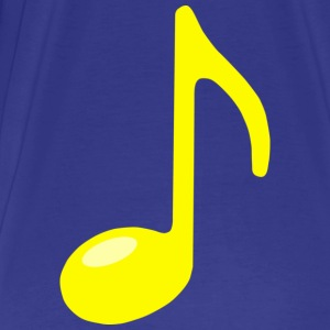 single note yellow - Men's Premium T-Shirt