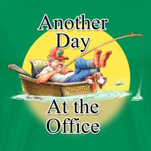 Sage Day at The Office T-Shirts - Men's Premium T-Shirt