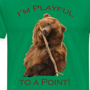 I'm Playful to a Point! - Men's Premium T-Shirt