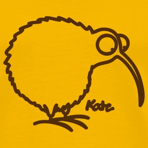 Gold Kiwi T-Shirts - Men's Premium T-Shirt