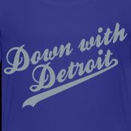 Design ~ Down with Detroit Children's T-Shirt