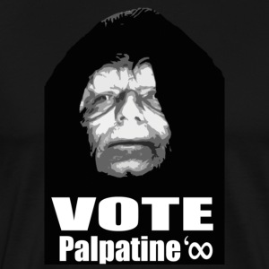 Black Vote palpatine T-Shirts - Men's Premium T-Shirt