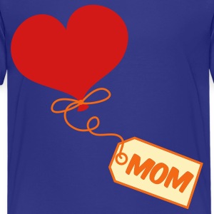 Turquoise mom pretty balloon and gift tag prestn for Mothers day ! Kids' Shirts - Kids' Premium T-Shirt