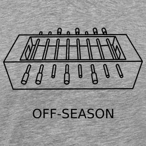 Heather grey Off-Season T-Shirts - Men's Premium T-Shirt