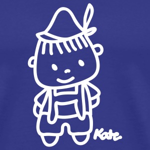 Royal blue Little Boy T-Shirts - Men's Premium T-Shirt