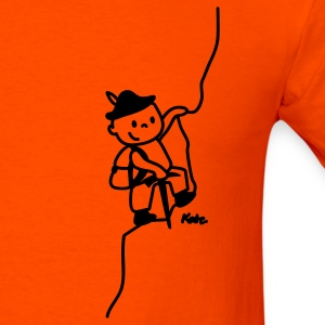Orange Mountaineer T-Shirts - Men's T-Shirt
