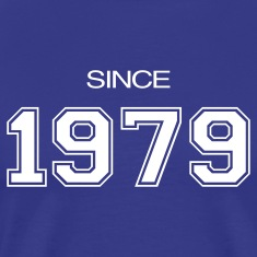 Royal blue birthday gift 1979 T-Shirts
