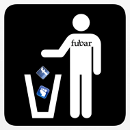 Design ~ Men's White T - fubar Recycle