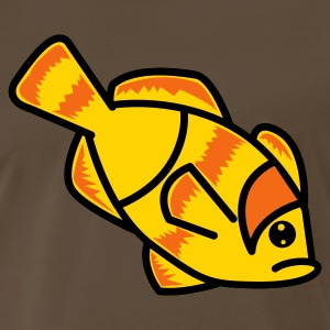 Brown clown fish nemo right T-Shirts - Men's Premium T-Shirt