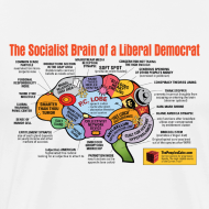 Design ~ Brain map: Liberal vs. Conservative