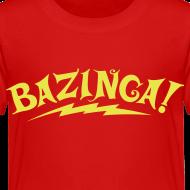 Design ~ BAZINGA T-Shirt Sheldon Toddler - New!