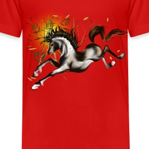 Running Horse - Toddler Premium T-Shirt