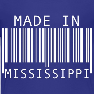 Turquoise Made in Mississippi Kids' Shirts - Kids' Premium T-Shirt