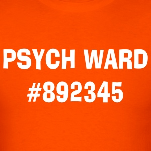 Orange psych_ward T-Shirts - Men's T-Shirt