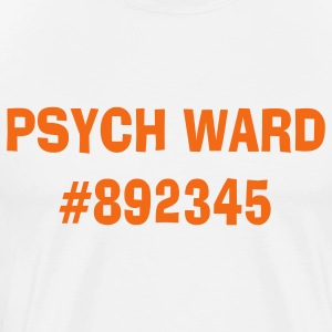 White psych_ward T-Shirts - Men's Premium T-Shirt