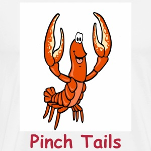 Pinch Tails Crawfish Cartoon - Men's Premium T-Shirt