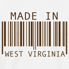 Natural Made in West Virginia T-Shirts