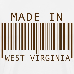 Natural Made in West Virginia T-Shirts - Men's Premium T-Shirt