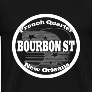 New Orleans Bourbon St - Men's Premium T-Shirt