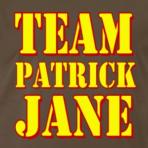 Brown Mentalist Team Patrick Jane T-Shirts - Men's Premium T-Shirt