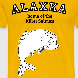 Salmon from Alaska t-shirt - Men's Premium T-Shirt