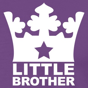Purple I am the Little Brother T-Shirts - Men's Premium T-Shirt