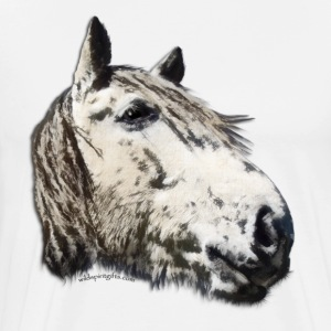 A Study in Horse Stallion Design - Men's Premium T-Shirt