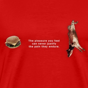 Burger T (Men) - Men's Premium T-Shirt