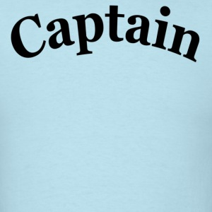 Sky blue CAPTAIN T-Shirts - Men's T-Shirt