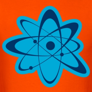 Orange atom T-Shirts - Men's T-Shirt