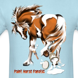 Paint Horse Fanatic - Men's T-Shirt