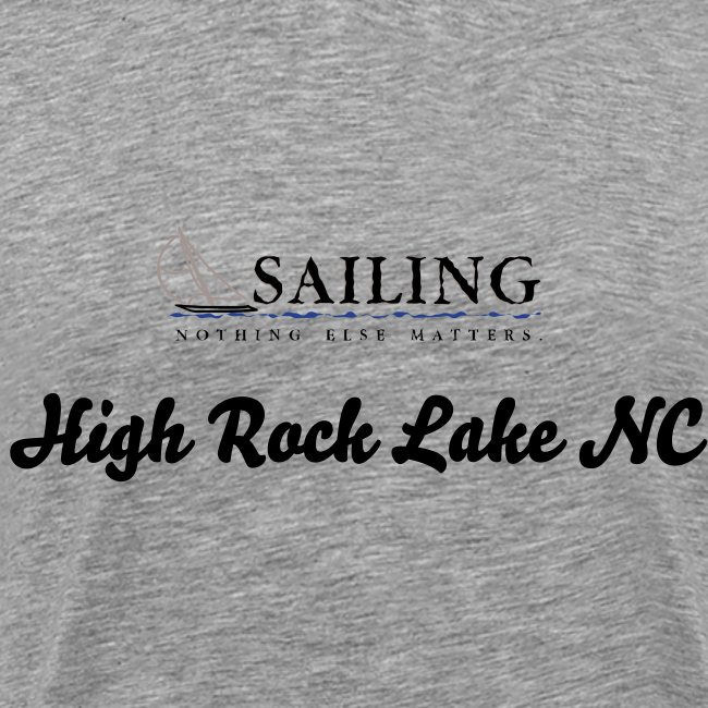 Mens Sailing High Rock Lake