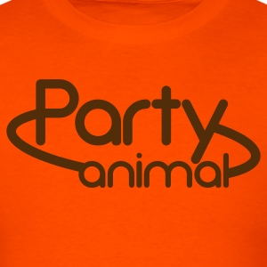 party animal NEON SIGN T-Shirts - Men's T-Shirt