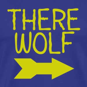 There Wolf - Men's Premium T-Shirt