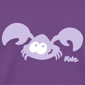 Purple Crab (2c) T-Shirts - Men's Premium T-Shirt