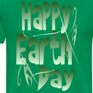 Happy Earth Day - Men's Premium T-Shirt