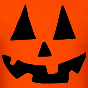 Halloween  Pumpkin face - Men's T-Shirt