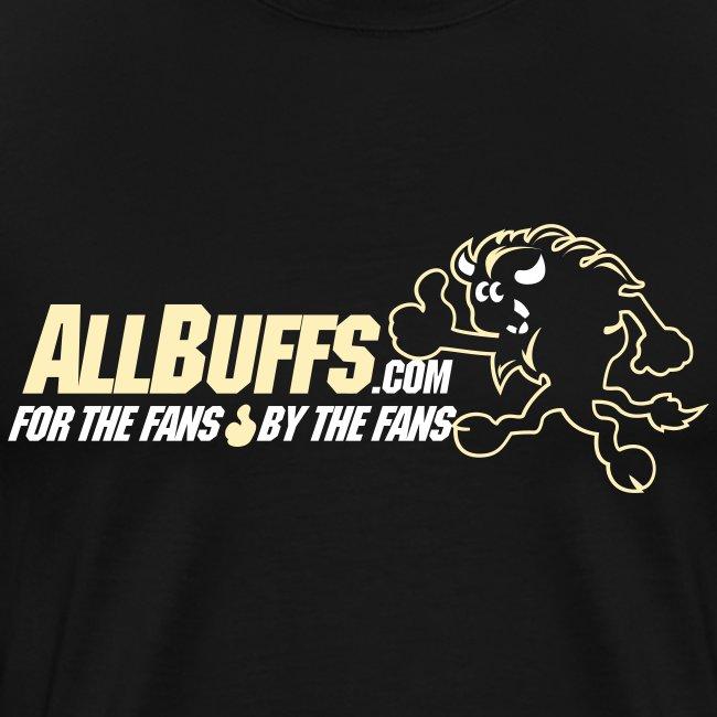 Allbuffs Logo Front, Got Stoudt? Lower Back