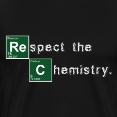 Black Respect the Chemistry Breaking Bad T-Shirts