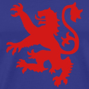 Royal blue Scottish Lion T-Shirts - Men's Premium T-Shirt