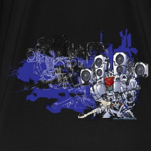 Black audiobot T-Shirts - Men's Premium T-Shirt