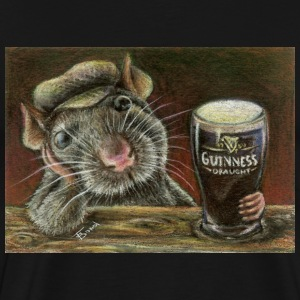 Paddy the rat T-shirt - Men's Premium T-Shirt