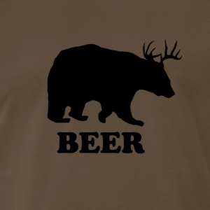 Brown Deer or Bear T-Shirts - Men's Premium T-Shirt