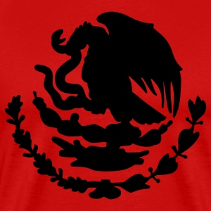 Red Mexican Emblem T-Shirts - Men's Premium T-Shirt