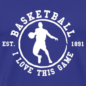 Royal blue Basketball T-Shirts - Men's Premium T-Shirt